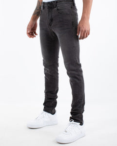 RUMOUR SLIM FIT JEAN - WASHED BLACK