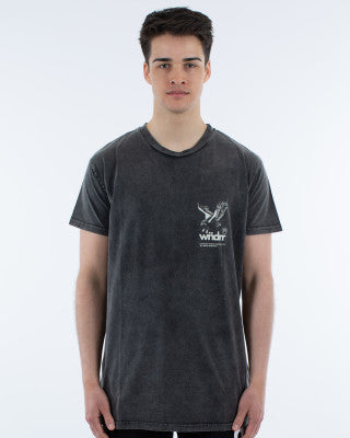 RANGER TEE - WASHED BLACK