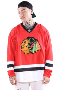 NHL REPLICA JERSEY - BLACKHAWKS - MARS RED