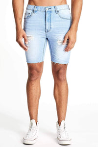 KS2 DENIM SHORT - RIVERSIDE BLUE