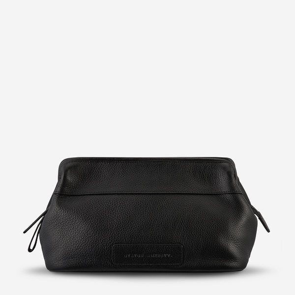 LIABILITY TOLIETRIES BAG - BLACK