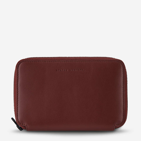 VOW TRAVEL WALLET - COGNAC
