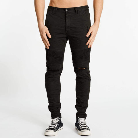 MONTAUK SLIM JEAN - DESTROYED BLACK