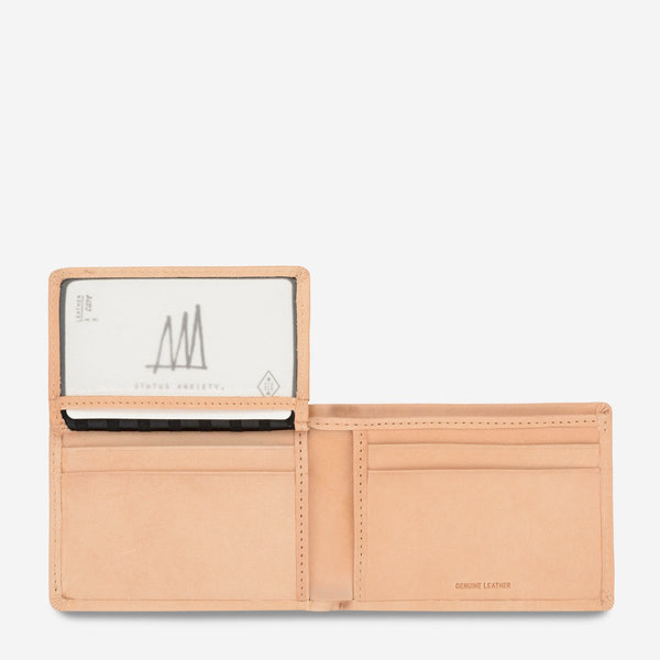 JONAH WALLET - TAN