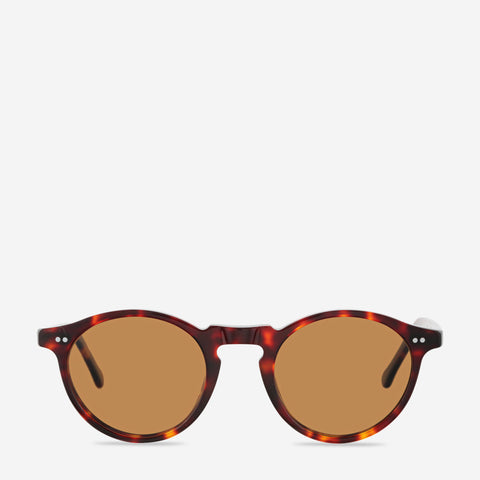 ASCETIC SUNGLASSES - BROWN TORT