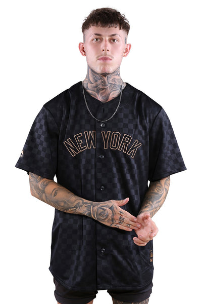 BOSSED REPLICA JERSEY - YANKEES - STANDARD BLACK