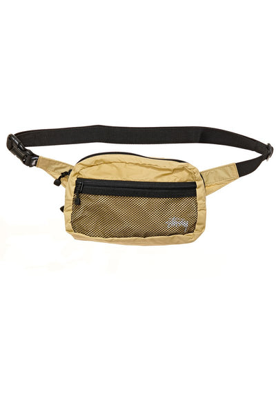 STOCK PANEL WAISTBAG - GOLD