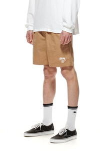 BASIC STOCK BEACHSHORTS - TANNIN