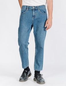 CHOPPED DENIM JEAN - RINSED BLUES