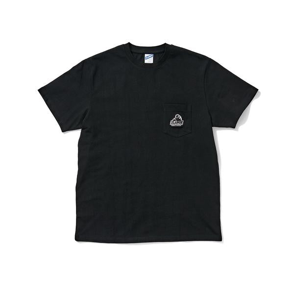 91 SS POCKET TEE - BLACK