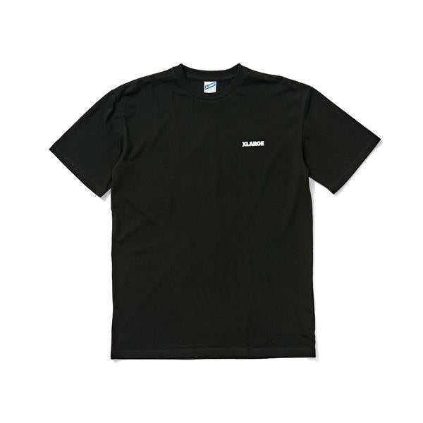 91 TEXT SS TEE - BLACK
