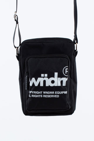 OFFCUT SIDE BAG - BLACK