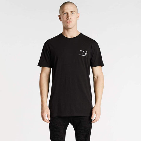 DAMNED RELAXED TEE - JET BLACK