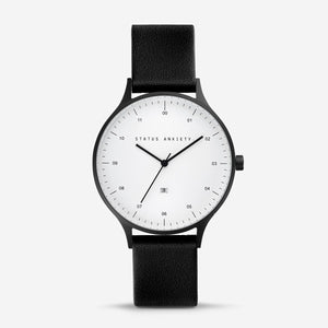 INERTIA WATCH - BLACK/WHITE