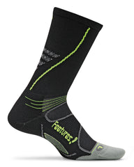 Feetures! Elite Light Cushion Crew Black