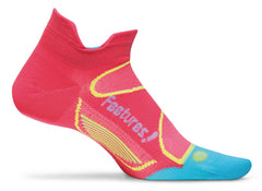 feetures Elite NST Hot Coral/ Sky Blue