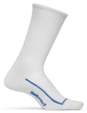 Feetures! High Performance Ultra Light Crew white/blue
