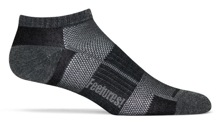 Feetures! Trail Running Pure ComfortUltra Light Low Cut black