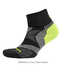 Balega Enduro V-Tech Quarter Black/yellow Running Socks