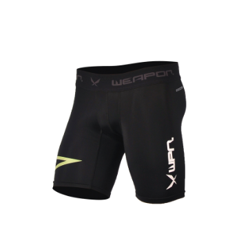 Black Compression Shorts Activewear Sports Coretech WPN Wear