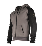 Grey Hoodie Firepower Fashion Activewear WPN Wear
