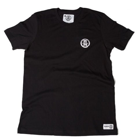 Mens Classic Tee Black Small Bear - Feeds 5
