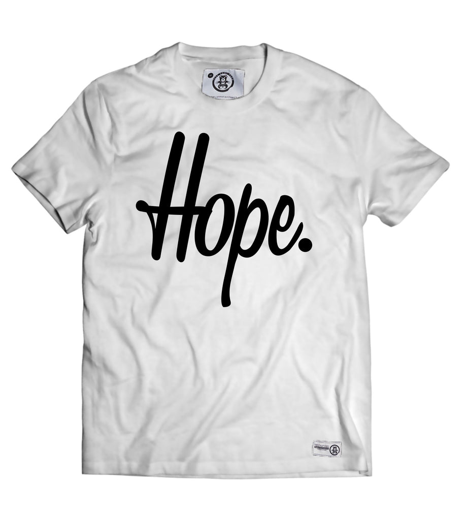 Give Hope Tee White - Feeds 5