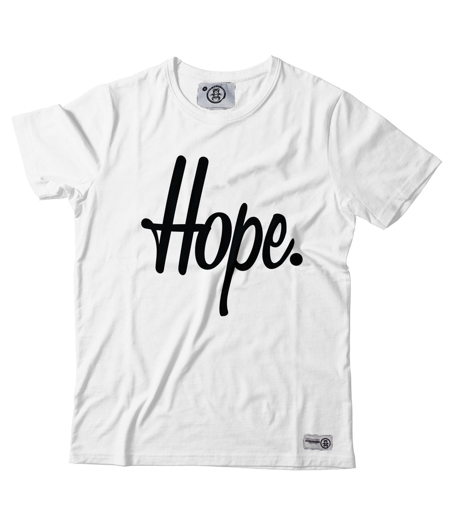 Women's Give Hope Tee White - Feeds 5