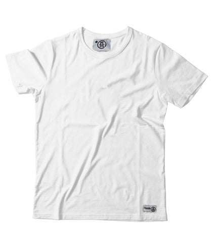 Women's Plain white Tee - Feeds 5