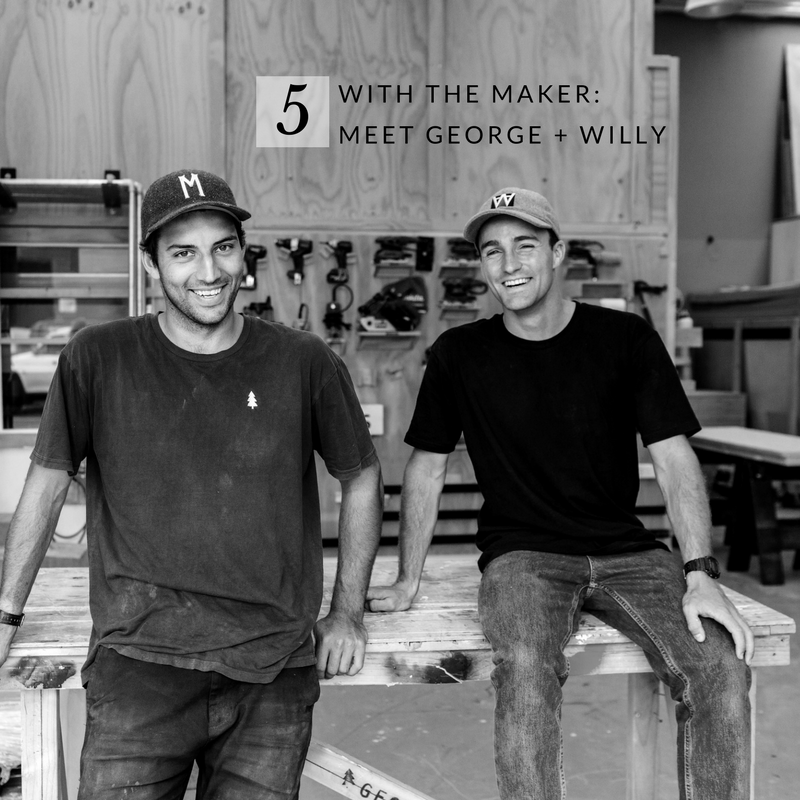 SADDLER & CO interview with George + Willy