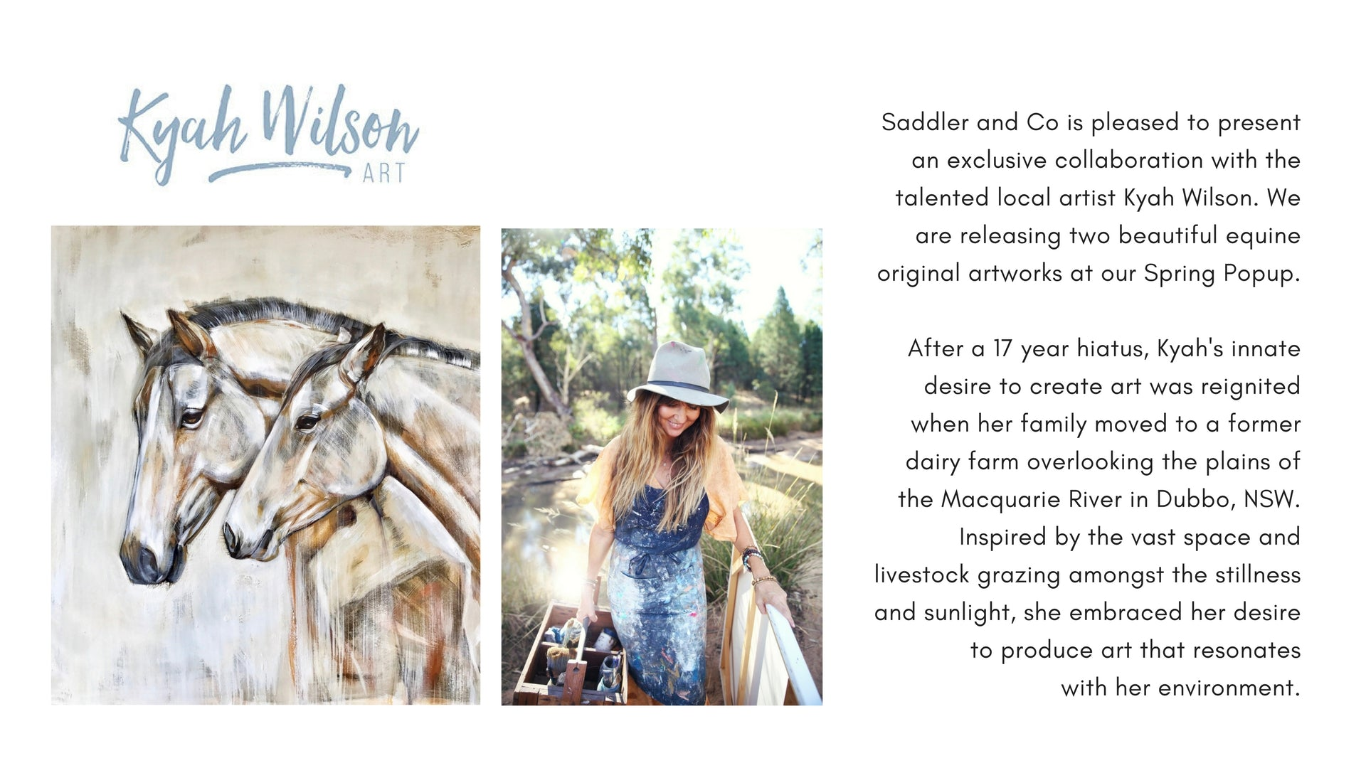 Kyah Wilson presented by Saddler & Co