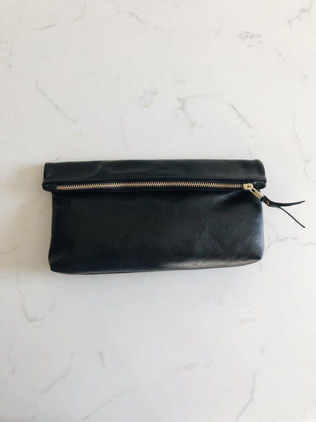 The Classic Clutch in Black