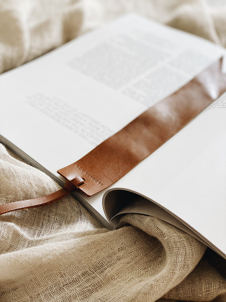 Leather Bookmark