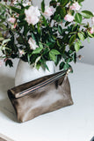 The Classic Clutch in Olive
