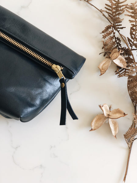 The Classic Clutch in Navy