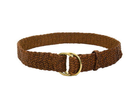 Plaited Ring Belt