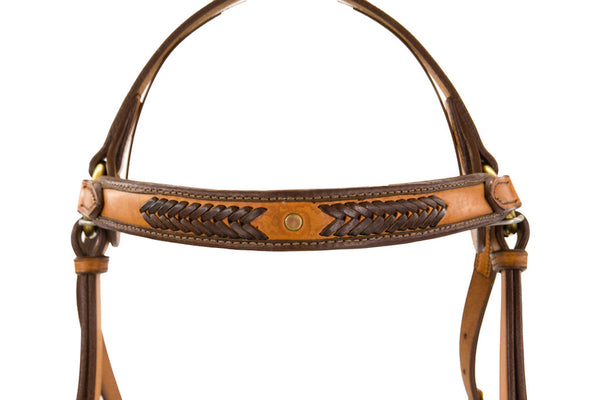 Padded Brow Show Bridle