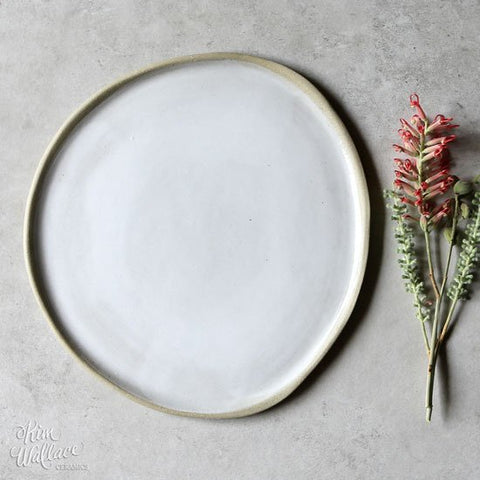 Kim Wallace - Pebble Dinner plate