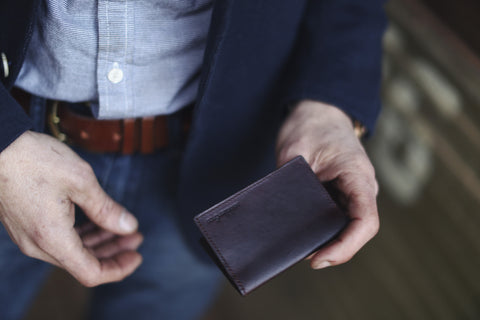 Pre ORDER - Leather Card Wallet (April Delivery)