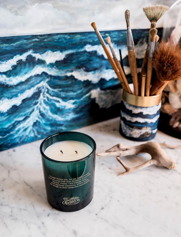 'Ocean Isle' Candle Edition II Glass Vessel