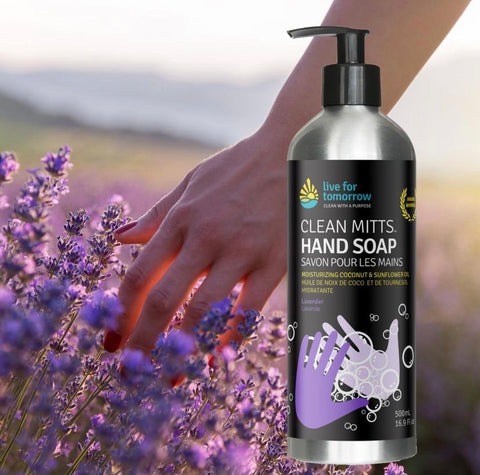 Live For Tomorrow Vancouver Company all natural liquid hand soap