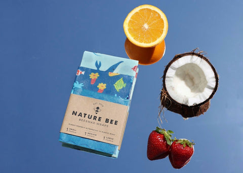 nature bee bees wax wraps a sustainable alternative to single use plastic