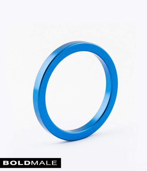 ABEL Metal Cock Ring XXXCR-01 (Blue) 1