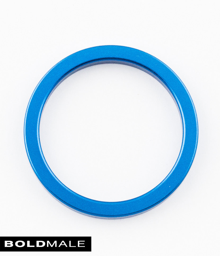 ABEL Metal Cock Ring XXXCR-01 (Blue) 2