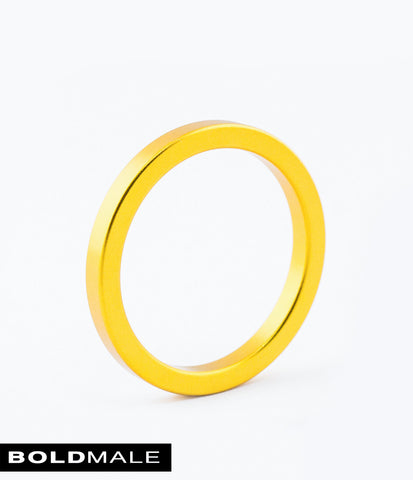 ABEL Metal Cock Ring XXXCR-01 (Gold) 1