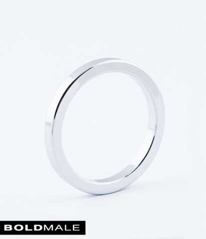 ABEL Metal Cock Ring XXXCR-01 (Silver) 1