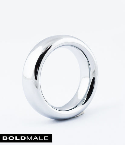LUKE Metal Cock Ring XXXCR-02