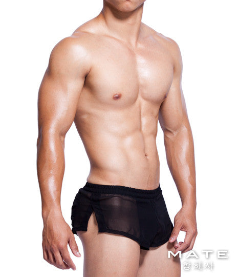 Very Sexy Ultra Shorts - In Su (Black) - Shop Sexy Men's Underwear, Sexy Men's Swimwear, Sportswear and Loungewear. Shop Skimpy Micro Bikinis, Mini G-Strings, Extreme Thongs, Sexy Jockstraps and More by MATEGEAR