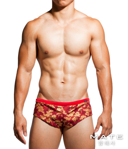 Very Sexy Ultra Shorts - Yong Min (Red Oriental)