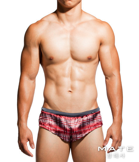 Very Sexy Ultra Shorts - Gi Joon (Red Chequered)